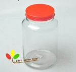 huge glass jar 5L