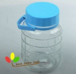 Glass big storage jar 3L